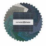 Woolies Flannel - Stormy Seas