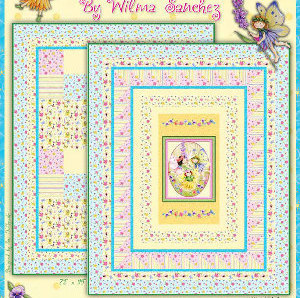 Wildflower Fairies by by Wilma Sanchez