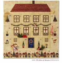 The Home of Christmas Advent Calendar by by Project Idea Only - Not a Pattern