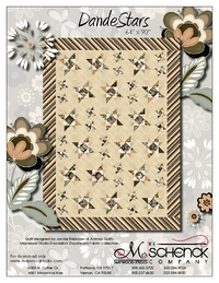 DandeStars by by Jackie Robinson of Animas Quilts
