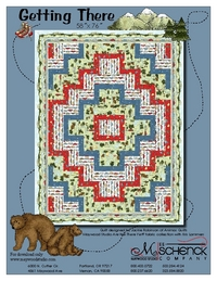 Getting There by by Jackie Robinson of Animas Quilts